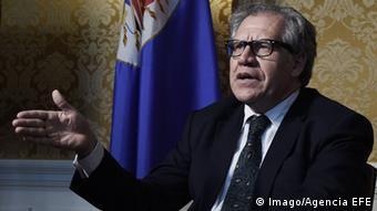USA Generalsekretär der OAS Luis Almagro (Imago/Agencia EFE)