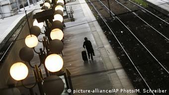 Frankreich Paris Gare du Nord Streik der SNCF