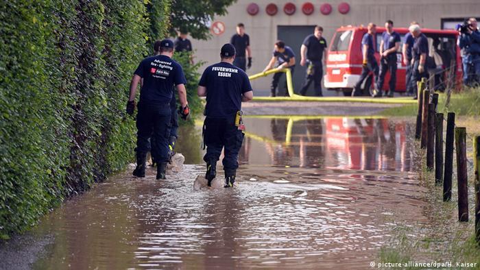 Наводнение в низовье Рейна