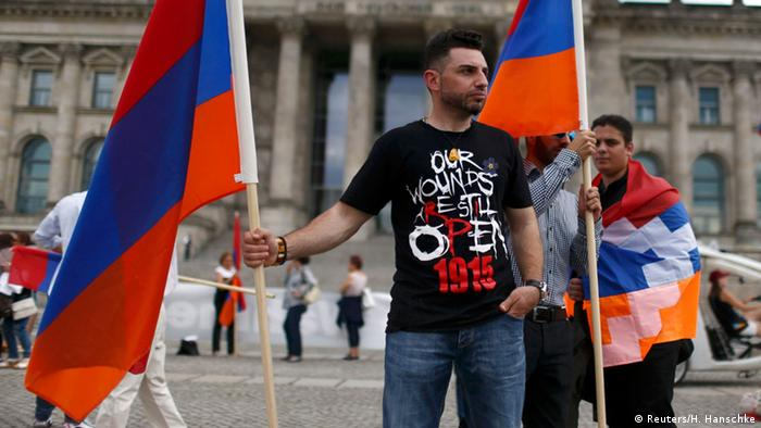 Armenians In Berlin welcomed the vote in the German Bundestag