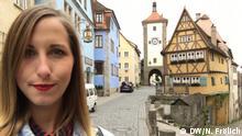 DW Sendung Check-in Rothenburg ob der Tauber Nicole Frölich