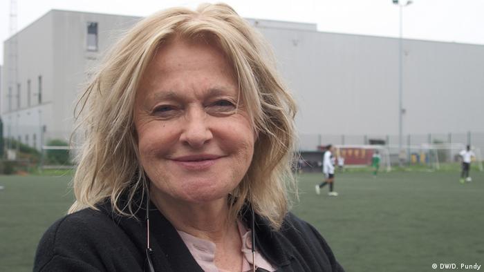 Anna Prior Gründerin des Londoner Fußballvereins TUFF FC