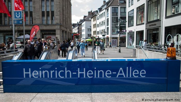 subway station Heinrich-Heine-Allee, Düsseldorf (picture-alliance/dpa/M. Hitij)