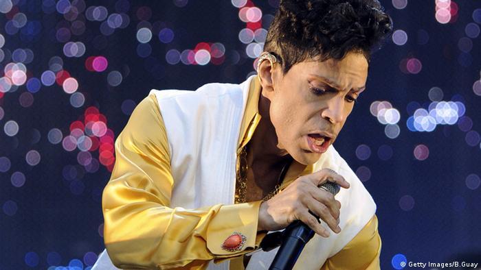 Prince Sänger Frankreich live Stade de France in Saint-Denis