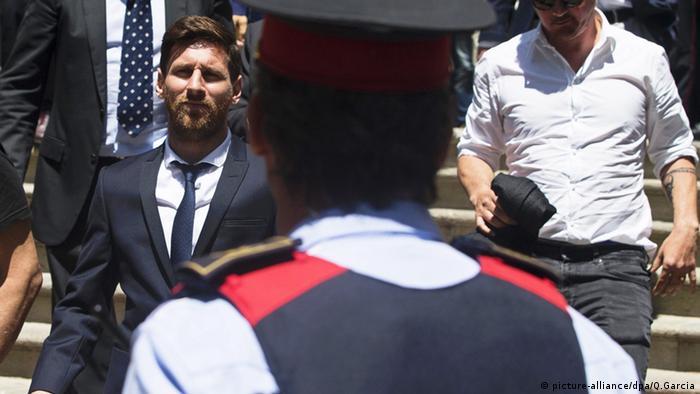 Lionel Messi Barcelona Spanien