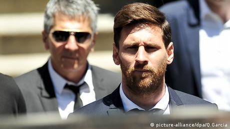 Lionel Messi Barcelona Spanien (picture-alliance/dpa/Q.Garcia)