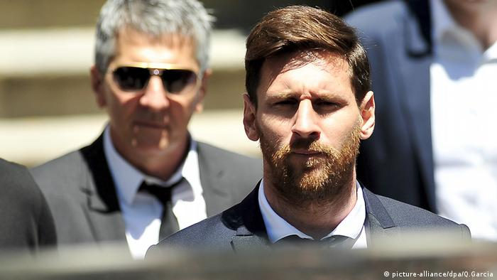 Lionel Messi Barcelona Spanien (picture-alliance/dpa/Q.Garcia)