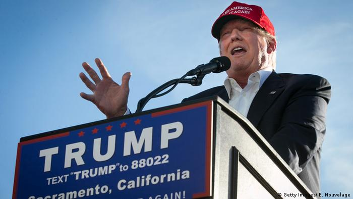 Donald Trump in Sacramento, kalifornien (Foto: Getty)