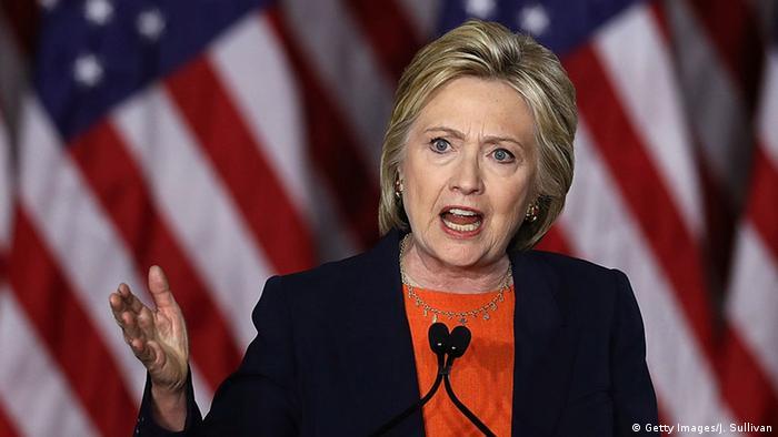 USA Clinton in San Diego