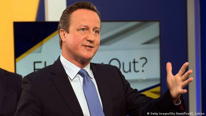 David Cameron on Sky News