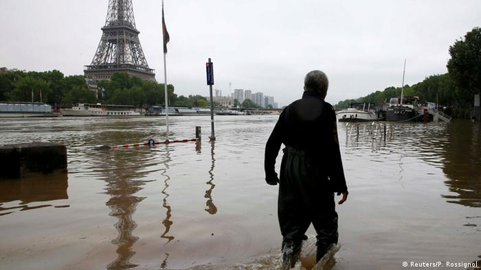 Flooding in Paris - photo credit Reuters/P. Rossignol.