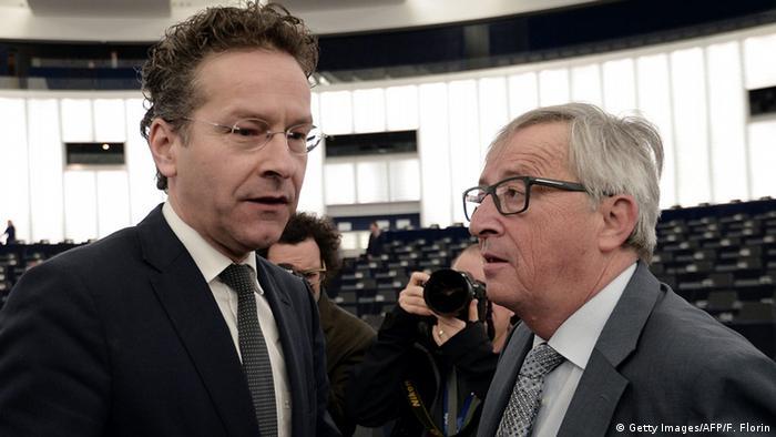 Jean-Claude Juncker Jereon Dijsselbloem (Getty Images/AFP/F. Florin)