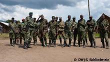 FDLR Kämpfer; Ostkongo, 15.8.2012; Copyright: DW/S. Schlindwein
