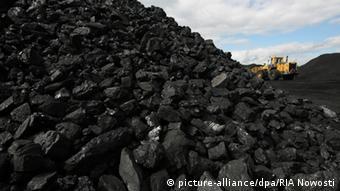 Добыча угля в Кемеровской области