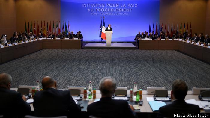 Frankreich Internationale Nahost-Friedenskonferenz