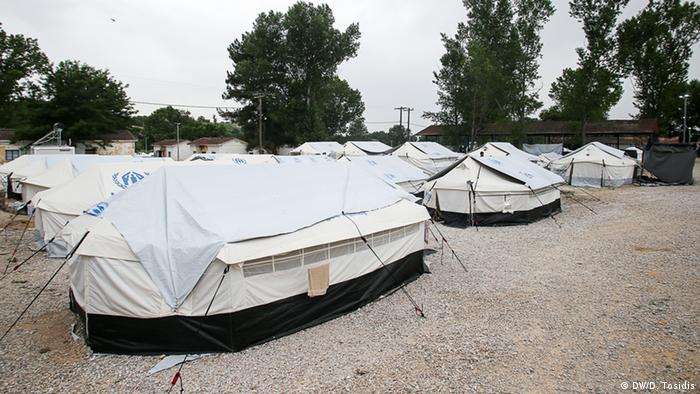 tents in a camp copyright: Dimitris Tosidis