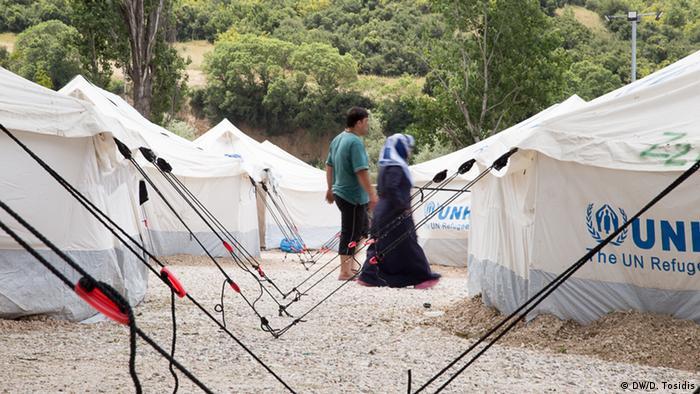 Griechenland Lagkadikia Flüchtlingscamp