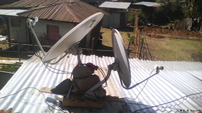 Satellite Dish in Ethiopia (F. B. Hassen)