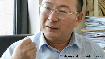 China Jin Canrong Interview in Beijing (picture-alliance/dpa/Kyodo)