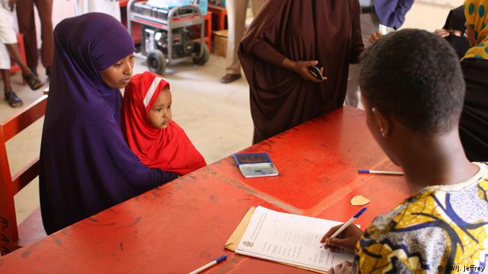 Somaliland Wählerinnen in Hargeisa