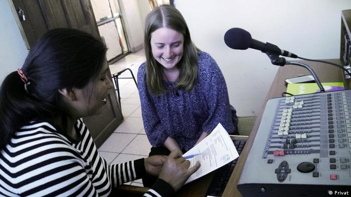 Saskia Bücker Teilnehmerin im Freiwilligen Austauschdienst kulturweit