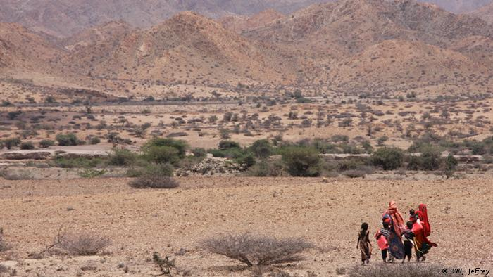 Somalia Äthiopien Viehzucht-Nomaden