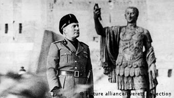 Benito Mussolini in 1943