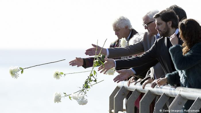 German President Frank-Walter Steinmeier visited Argentina in 2016 to pay tribute to those killed in the dirty war (Getty Images/J.Mabromata)