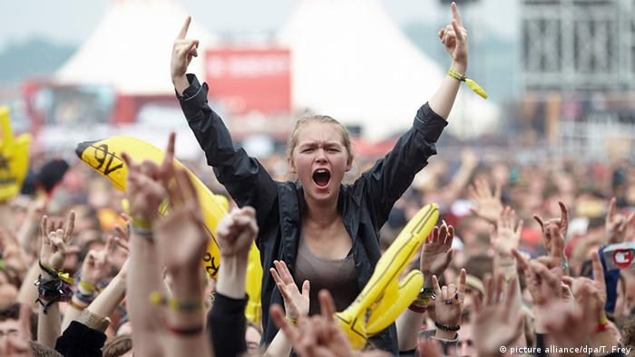 Deutschland Rock am Ring (picture alliance/dpa/T. Frey)