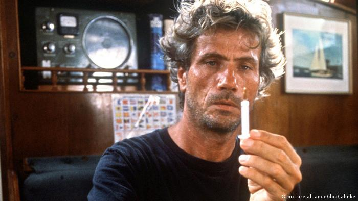 Jürgen Prochnow in the film 'The Skipper'. (c) picture-alliance/dpa/Jahnke