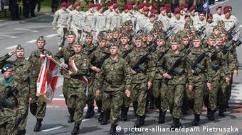 Парад польской армии