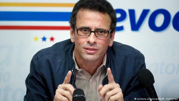 Venezuela Henrique Caprile Opposition