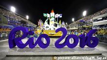 Rio 2016 Sambodromo