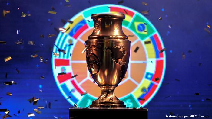 Copa America Centenario Trophäe 2016