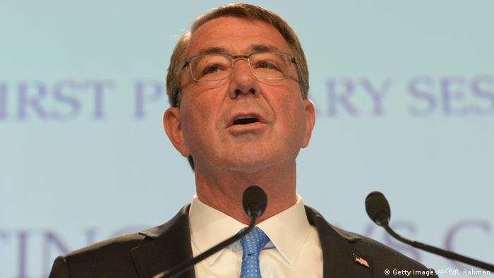 US-Verteidigungsminister Ashton Carter in Singapur (Foto: ROSLAN RAHMAN/AFP/Getty Images)