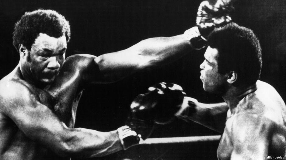 Beim Rumble in the Jungle gegen George Foreman in Zaire (Foto: dpa)