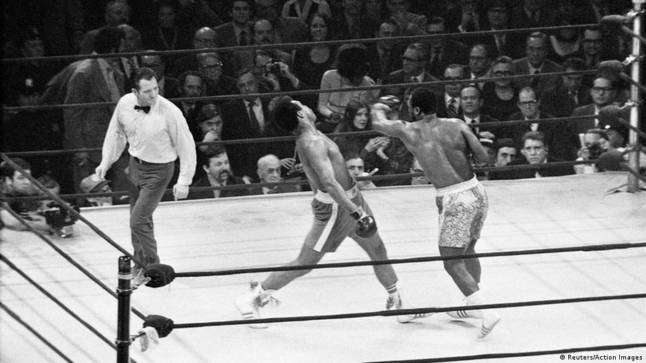 Muhammad Ali vs. Joe Frazier (Foto: Reuters)