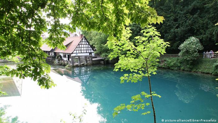 Río Blau en Baden Wurtemberg.