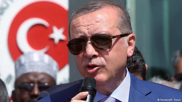 Somalia Recep Tayyip Erdogan in Mogadishu