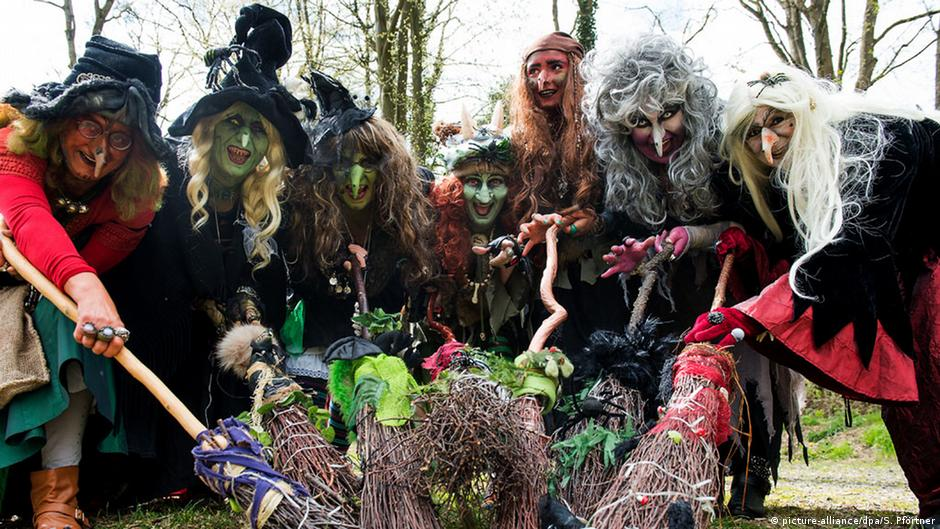 Witching and dancing: It′s all part of the May tradition in
