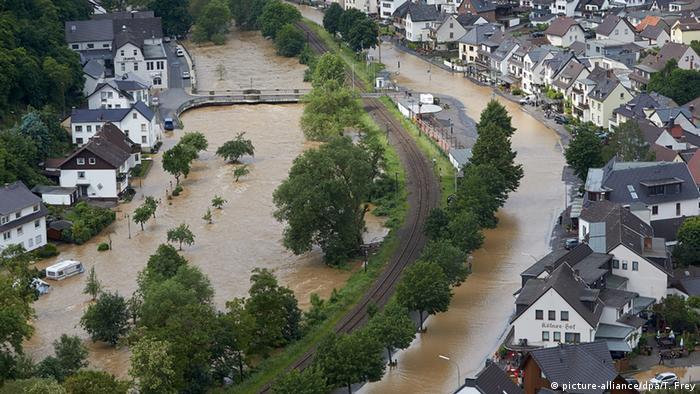 Deutschland Hochwasser in Dernau