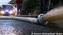 Deutschland Unwetter in Heitersheim