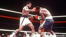 Boxer Muhammad Ali vs. Joe Frazier
