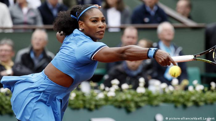 Serena Williams French Open Frankreich Tennis