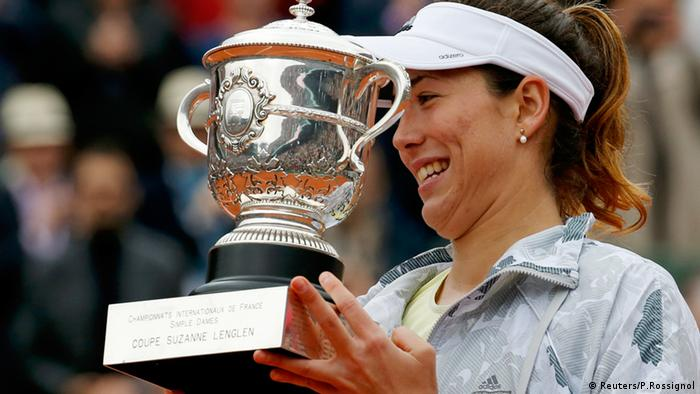 Garbine Muguruza French Open Frankreich Tennis