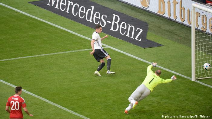 Fußball Freundschaftsspiel Deutschland - Ungarn