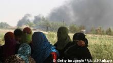 Irak Kampf um Falludscha Vertriebene Iraker