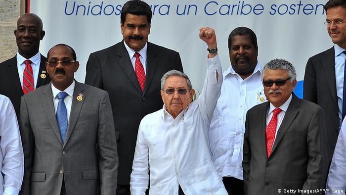 Kuba Havanna Gipfel Karibische Staaten Raul Castro