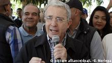 Kolumbien Uribe unterstützt Initiative gegen Freidensabkommen