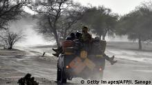 Niger Soldaten in Bosso